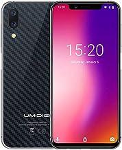UMIDIGI One, 4GB+32GB, Dual Back Cameras, Face ID & Side Fingerprint ID, 5.9 inch Android 8.1 Helio P23, 4G, VoLTE, Dual SIM(Carbon Fiber Black)