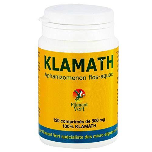Flamant Vert Klamath BIO Micro Algues AFA 120 Comprimés de 500 mg