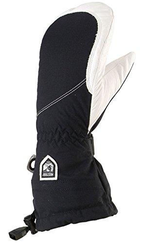 HESTRA - Heli Ski Glove Gants De Ski Femme Noir/Blanc - Noir/Blanc - 6 - Noir/Blanc