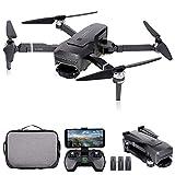 GoolRC K1 PRO GPS RC Drone con cámara 4K 2 ejes Gimbal Motor sin escobillas 5G Wifi FPV Quadcopter Punto de interés Modo de seguimiento 600m Distancia de control con bolsa de almacenamiento 3 baterías