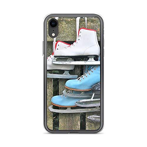 blitzversand Handyhülle MALEDIVEN Seychellen kompatibel für Samsung Galaxy S6 Edge Schlittschuhe Zaun Schutz Hülle Case Bumper transparent rund um Schutz Cartoon M9
