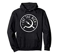 Eat The Rich Antikapitalismus Gegen den Konsum Satire Hoodie
