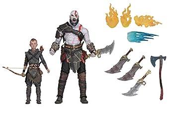 NECA God of War  2018  - 7  Scale Action Figure - Ultimate Kratos & Atreus Multicolor