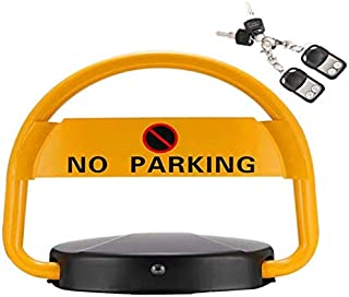 litthb Car Intelligent Induction Parking Space Folding Lock, Automatic Remote Control Parking Space Lock, Sturdy Waterproof Thickening Anti-Collision Garage Barrier