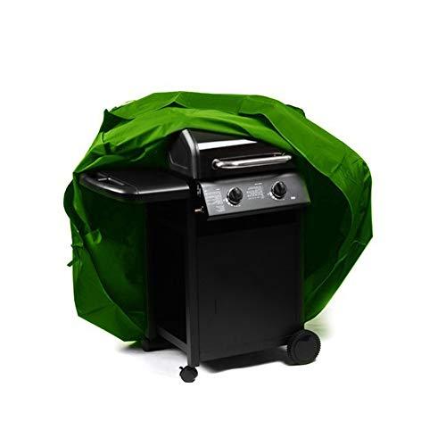 OA-Cover Housse De Protection Couverture De Meubles, Couverture De Gril Extérieur Habillage Pluie Barbecue Vert, Convient pour Barbecue/Four / Table/Chaise / Chauffage,Green,124 * 61 * 91Cm