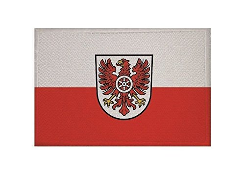 U24 Aufnäher Landkreis Eichsfeld Fahne Flagge Aufbügler Patch 9 x 6 cm