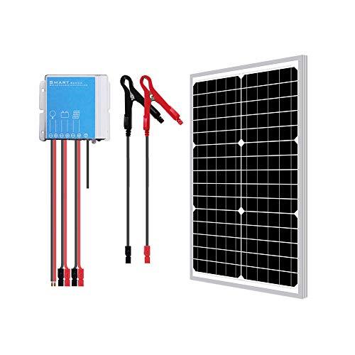 Newpowa 30W Watts 12V Mono Solar Panel Waterproof Off Grid...