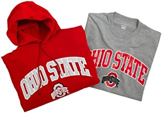 Russell Athletic Ohio State Pullover Hood and T-Shirt