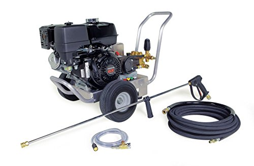 Find Bargain Hotsy Cold Water Pressure Washer Gas Engine 3500 PSI 3.5 GPM Belt Drive