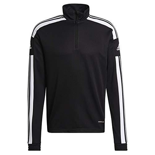 adidas GK9562 SQ21 TR TOP Pullover mens black/white M