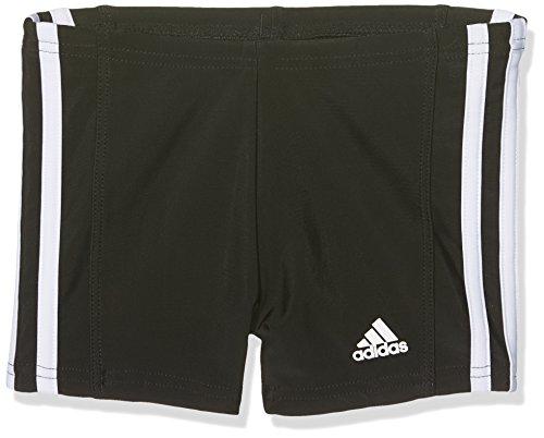 adidas Jungen Essence Core 3 Stripes Badehose, schwarz (Black/White), 152