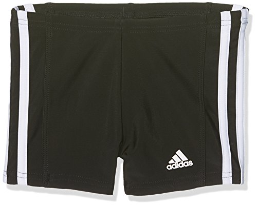 adidas Jungen Essence Core 3 Stripes Badehose, schwarz (Black/White), 152