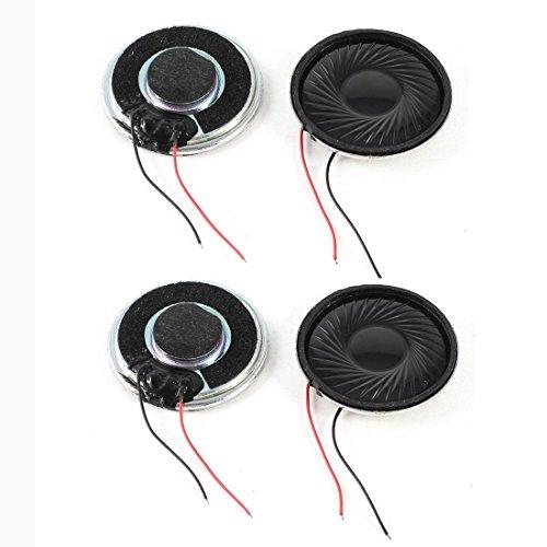 TOOGOO(R)) 4 Stueck Interne Lautsprecher Magnet 30mm 2800 Hz 8Ohm 1W Fuer PC Laptop