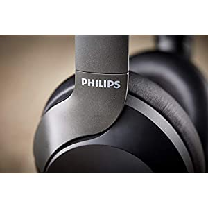 Philips SHB9850NC/00 - Auriculares inalámbricos con reducción de ruido (supraaural, almohadillas suaves, plegado compacto), negro: Amazon.es: Electrónica
