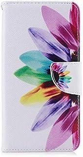 Yiizy 専用ケース Xiaomi Pocophone F1 ケース 手帳型 花弁 カバー 本革ソフトレザー 対応 ケース カードポケット スタンド機能 マグネット式 財布型 Xiaomi Pocophone F1