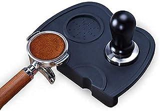 Espresso Coffee Tamper Mat, Santo Silicone Non-Slip Coffee Tampering Mat, Coffee Tampering Corner Pad