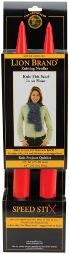 Lion Brand Yarn 400-5-5504 Speed Stix Knitting Needles