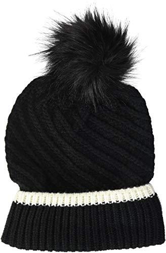 Chiemsee Damen kuschelige Mütze, Deep Black, ONE SIZE ONLY