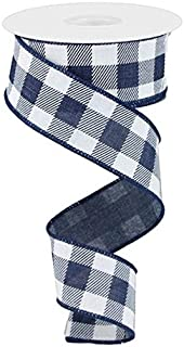 Best blue and white wired ribbon Reviews