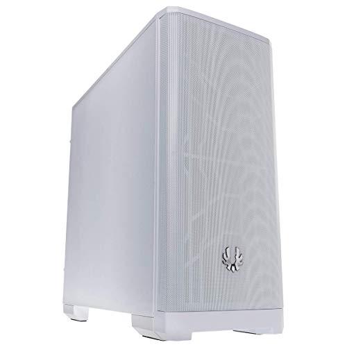 BitFenix Nova MESH BFC-NVM-300-WWXKW-RP - Carcasa de malla frontal para ATX y Micro ATX y Mini ITX, color blanco