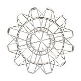 YOLER コーヒードリッパー アウトドア 折りたたみ 10x10x8cm キャンプ 調節可 ステンレス コンパクト