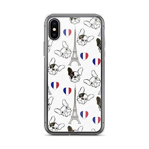 Compatible for iPhone 6/6s Case French Bulldog Art Frenchie Flag Dog TPU Anti-Scratch