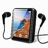 MP3プレーヤー Bluetooth 5.0 タッチスクリーン 音楽プレーヤー 16GB ポータブル mp3プレーヤー スピーカー付き ハイファイでロスレスサウンド 品質 mp3 FMラジオ録画 電子書籍1.8インチスクリーン MP3プレーヤー対応 (128GB)