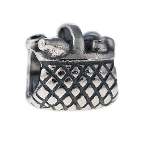 Pandora Damen Element Charm Sterling Silber Picknick Korb 790418