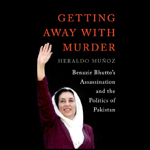 Getting Away with Murder audiobook cover art