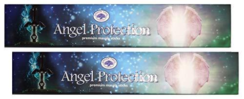 TRIMONTIUM Rookwerk, GTL Premium Masala wierookstokjes, natuurbruin, duo-pak (2 x 15 g) hengel protection/bescherming door engel, 2