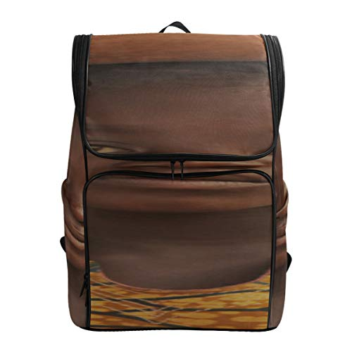 Men Wear Traditional Clothes With Paints On Their Faces Traveling Backpack Zipper Travel Bag Backpack For Women Best Backpack Fits 15.6 Inch Laptop And Notebook Travel Bags For Women Bags F