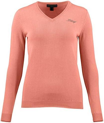 B Vertigo Ladies Nina Knitted V-Neck Sweater