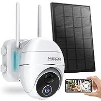 MECO WiFi 15000mAh Battery Powered Solar Security Camera