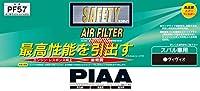 PIAA エアーフィルター 1個入 [スバル車用] ヴィヴィオ_他 PF57