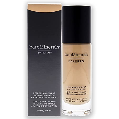 BarePro Performance Wear Liquid Foundation Warm Natural 12