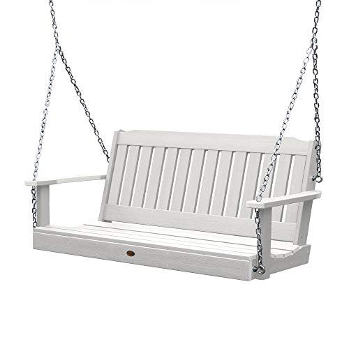 Highwood AD-PORL1-WHE Lehigh Porch Swing, 5 Feet, White