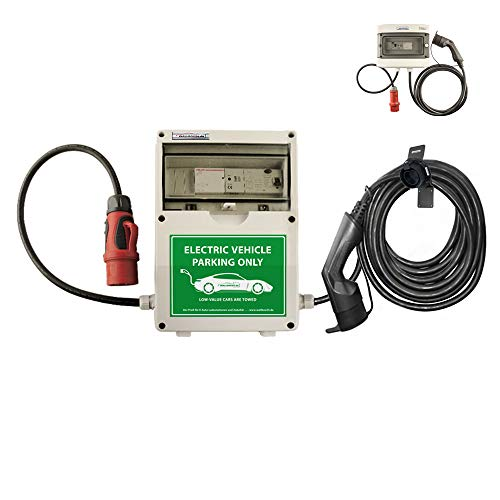 WB24 Wallbox 3 Phasig 400V 11kW 16A Typ 2 7,5m