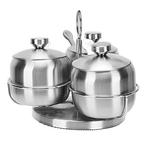 Olla de especias, botella de especias, suministros de cocina duraderos para barbacoa, restaurante, cantina