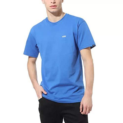 Vans Left Chest Logo Tee T-Shirt, Blu Reale, M Uomo