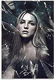 IOIP Lienzos De Fotos 60x80cm Sin Marco Póster artístico de Britney Spears, Arte Decorativo para Pared, Carteles de Sala de Estar, Cuadro de Pintura para Dormitorio