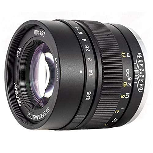Mitakon Speedmaster 35mm f/0.95 Mark II Lens for Fuji X Mirrorless...