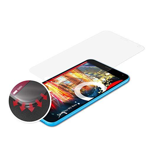 atFolix Schutzfolie kompatibel mit Meizu M2 Note Folie, entspiegelnde & Flexible FX Bildschirmschutzfolie (3X)