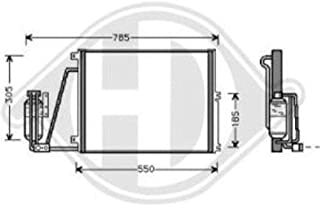Diederichs 5241124/Espejo Completo Derecho