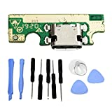 Zahara USB Charging Port Charge Plug Replacement for AT&T ZTE Trek 2 HD K88 + Tools Kit