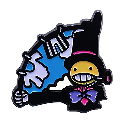 Emaille Pin Brosche Hang Kleidung Turnip Head Studio Ghibli Fans Collection (Metal Color : 02)