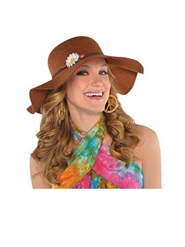Accessoire de costume - Chapeau les années 60 - 53cm en diamètre