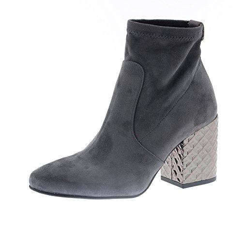 Zapatos Mujer Botas Botines Pedro Miralles 29785 Gris 40