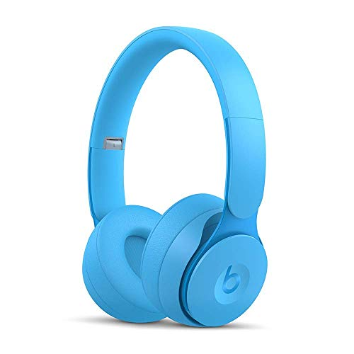 Beats Solo Pro Wireless NC On-Ear Headphones - More Matte Collection Light Blue (Renewed)