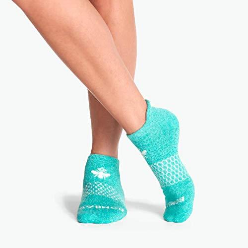 Bombas Women's Marls Ankle Socks, Blue, Medium