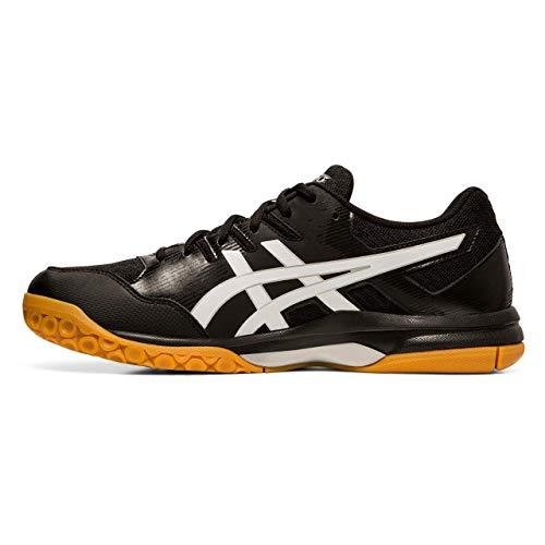 ASICS Herren 1071A030-001_40,5 Volleyball Shoe, Black, 40.5 EU